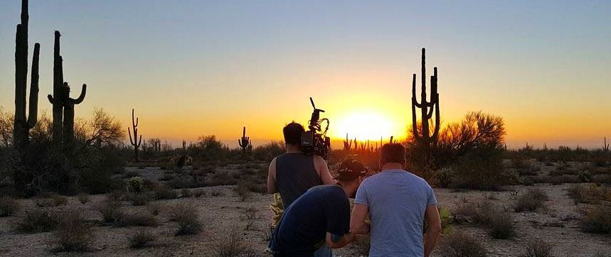 Phoenix Sunset Video Shoot