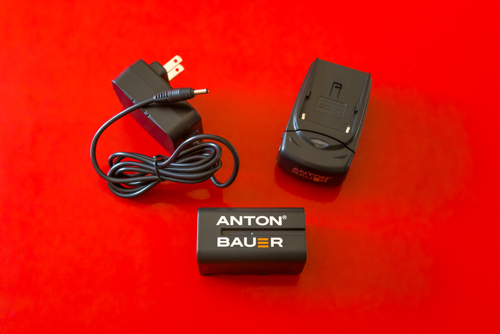 Anton Bauer SmallHD battery and power adapter